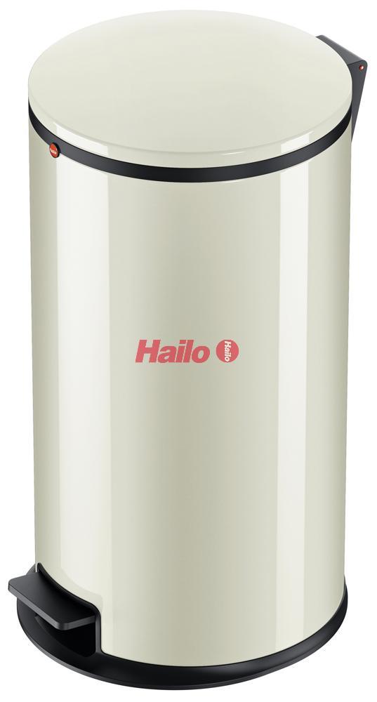 Hailo Pure L vanilkový - designový odpadkový koš