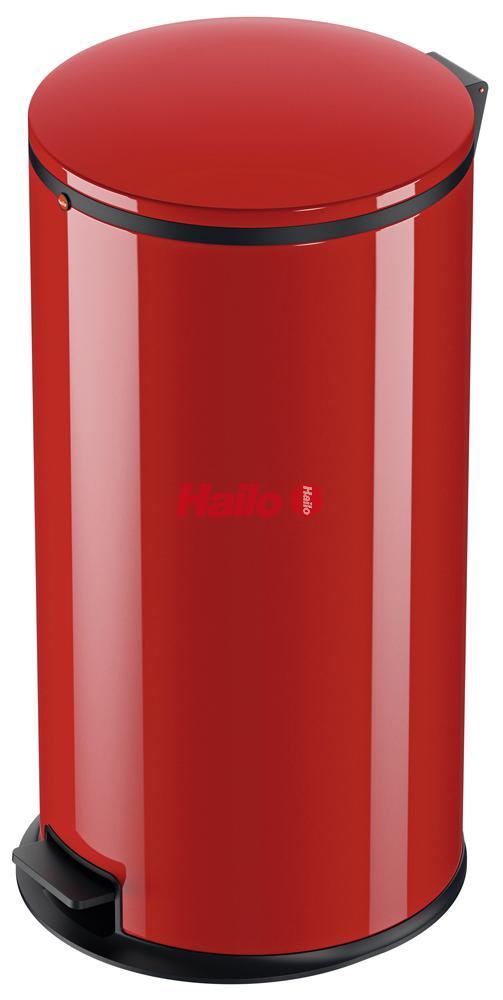 Hailo Pure XL červený - designový odpadkový koš