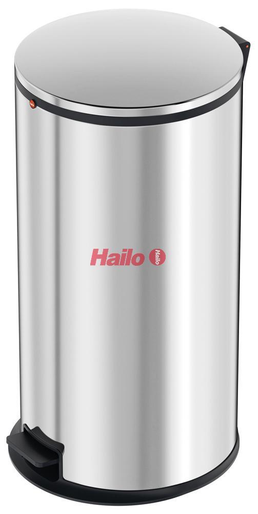 Hailo Pure XL nerez - designový odpadkový koš