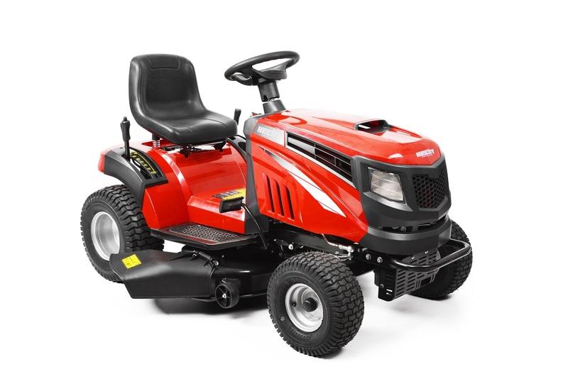 HECHT 5114 - zahradní traktor s bočním výhozem