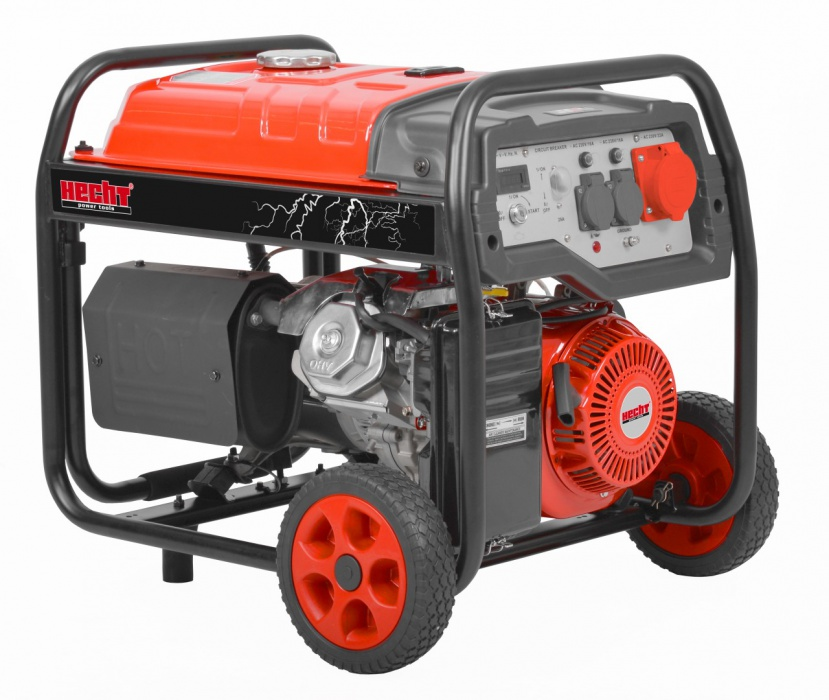 HECHT GG 8000 - třífázový generátor elektřiny