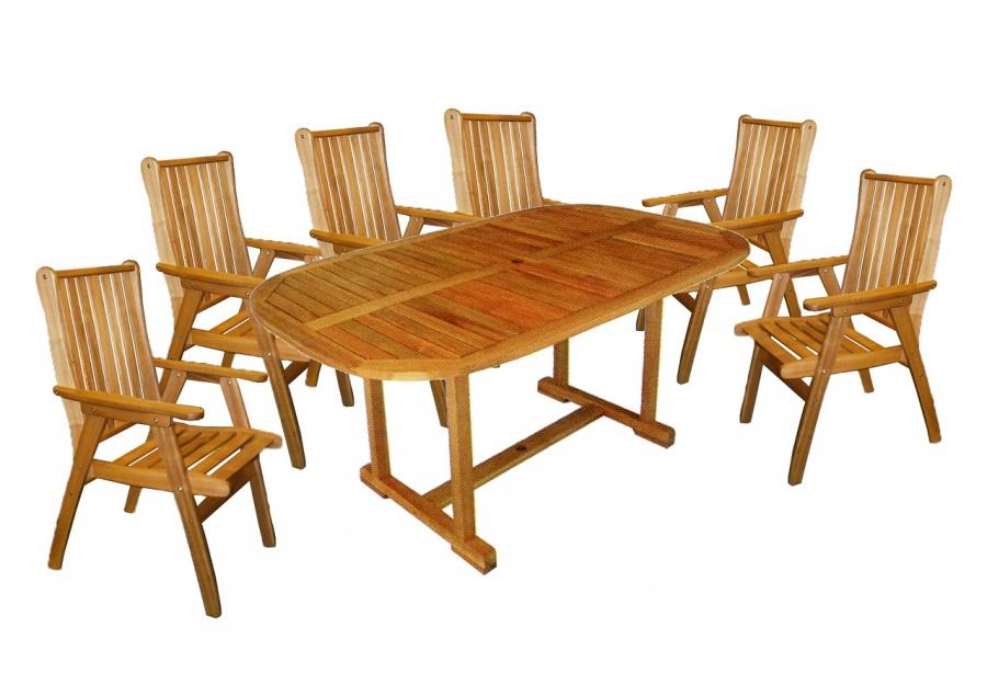 HECHT ROUNDED SET - set zahradního nábytku