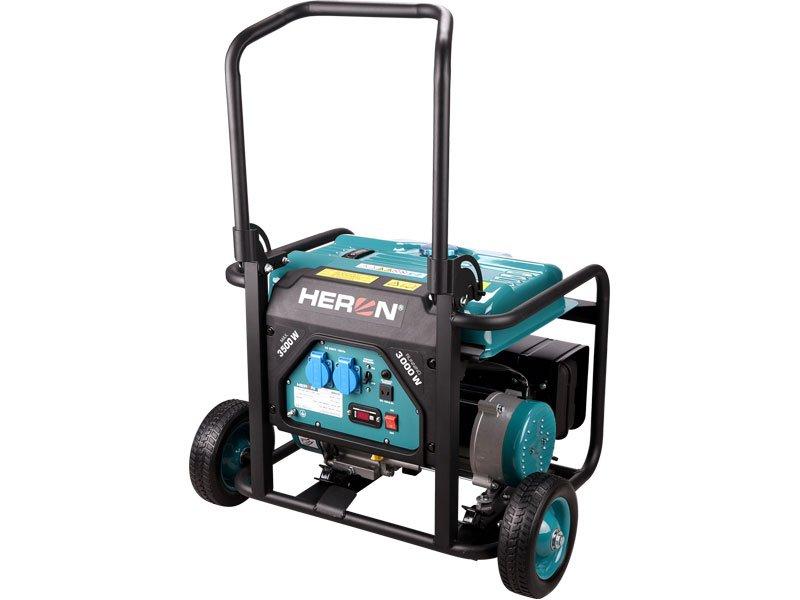 HERON 8896140 - elektrocentrála benzínová 7,5 HP / 3,5 kW