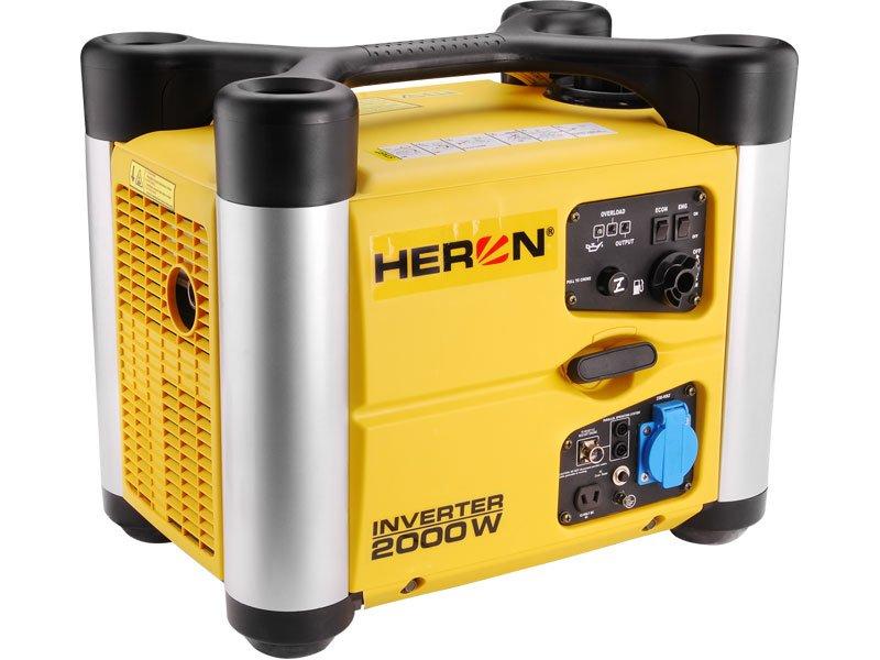 HERON DGI 20 SP - elektrocentrála digitální invertorová 2,0 HP / 1,4 kW