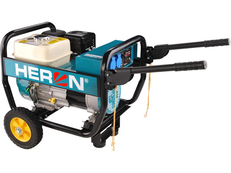 HERON EGI 30 - elektrocentrála benzínová 6,5 HP / 2,8 kW