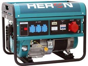 HERON EGM 60 AVR - 3 benzínová elektrocentrála 6 000 W / 13 HP