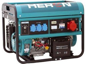 HERON EGM 60 AVR - 3 E - benzínová elektrocentrála 6 000 W / 13 HP