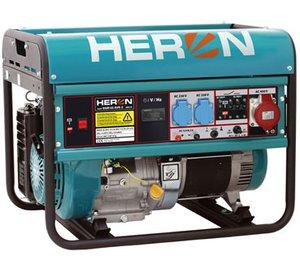 HERON EGM 68 AVR-3 - benzínová elektrocentrála 6000 W / 15 HP