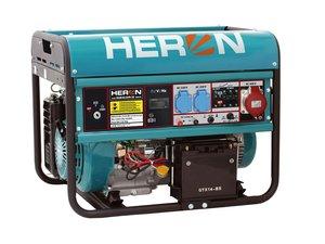 HERON EGM 68 AVR-3E - benzínová elektrocentrála 6000 W / 15 HP