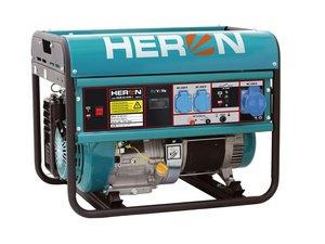 HERON EMG 68 AVR-1 - benzínová elektrocentrála 6500 W / 15 HP