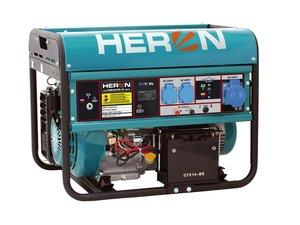 HERON EMG 68 AVR-1E - benzínová elektrocentrála 6500 W / 15 HP