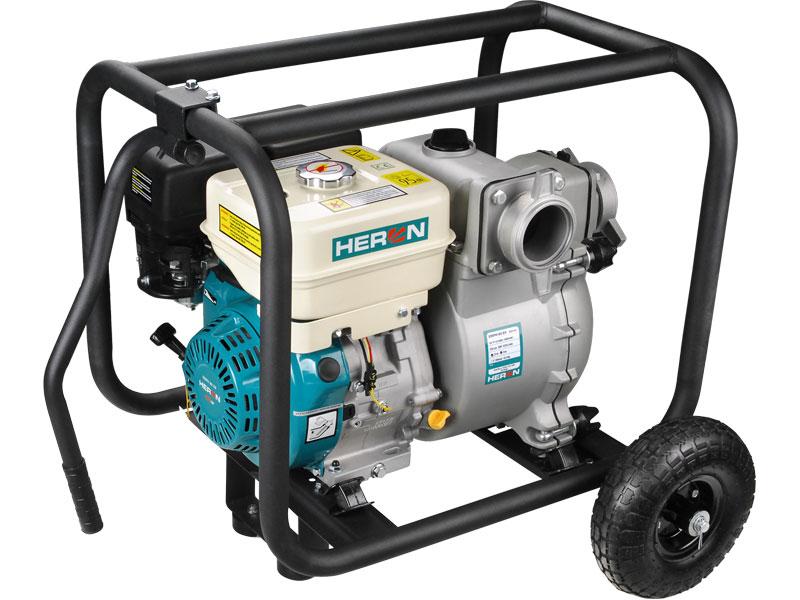 HERON EMPH 80 E9 - čerpadlo motorové kalové 9 HP