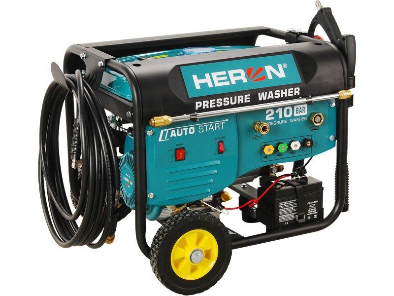 HERON HPW 210 - motorová tlaková myčka s dálkovým ovládáním