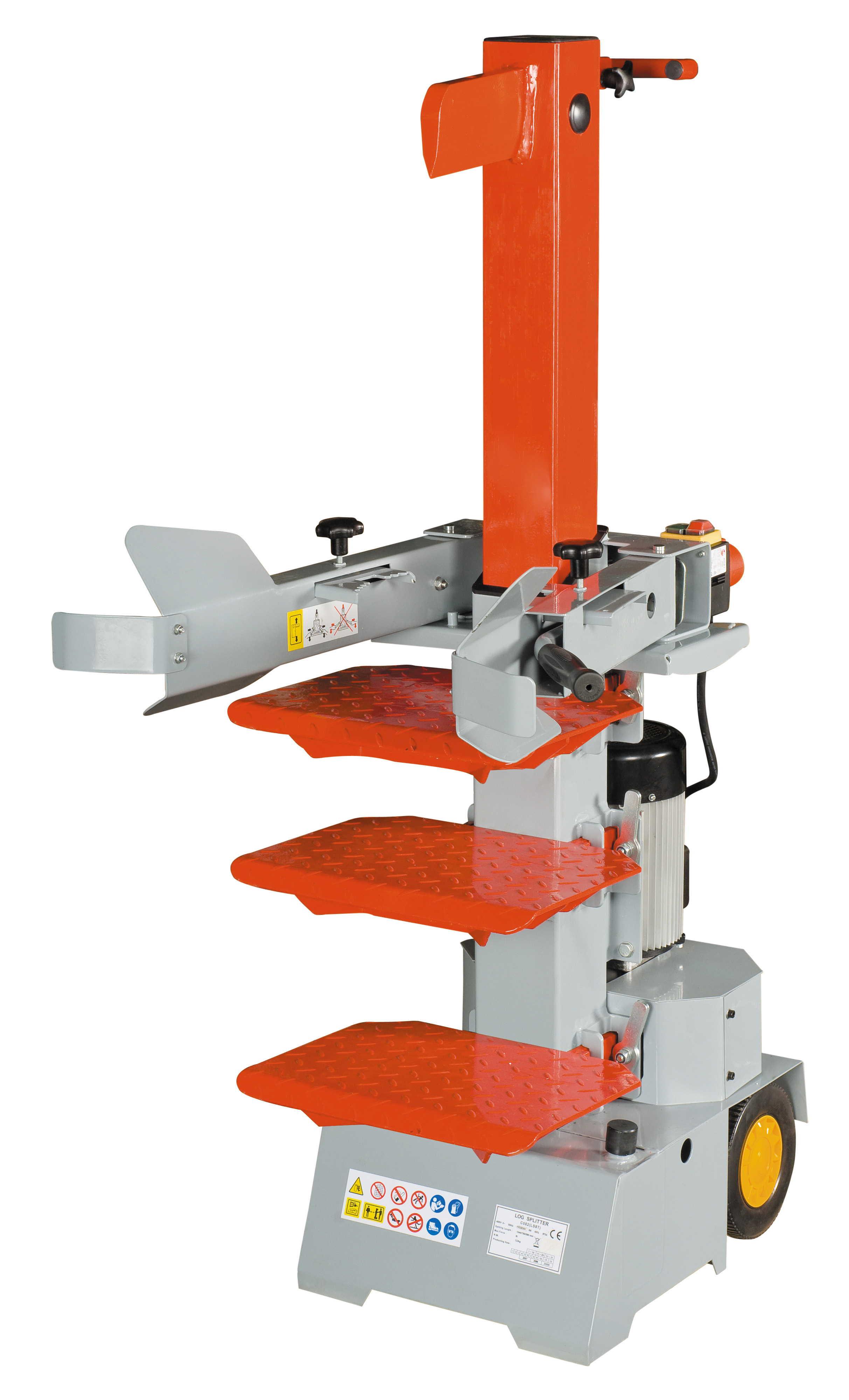 HSV 8 - vertikální hydraulický štípač