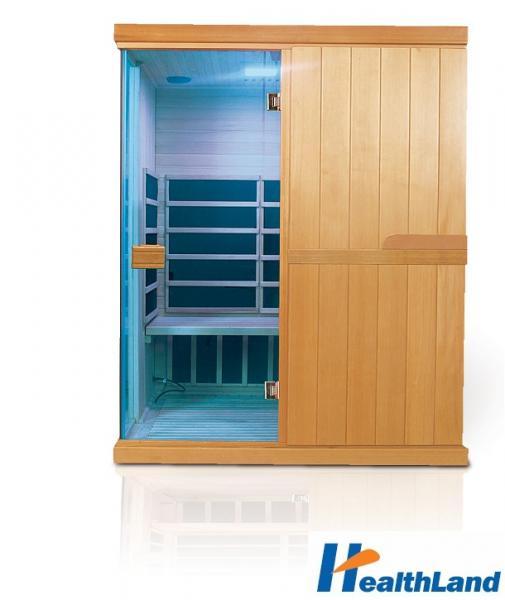 INFRASAUNA DeLUXE 3300 CARBON - BT + podlahové topení
