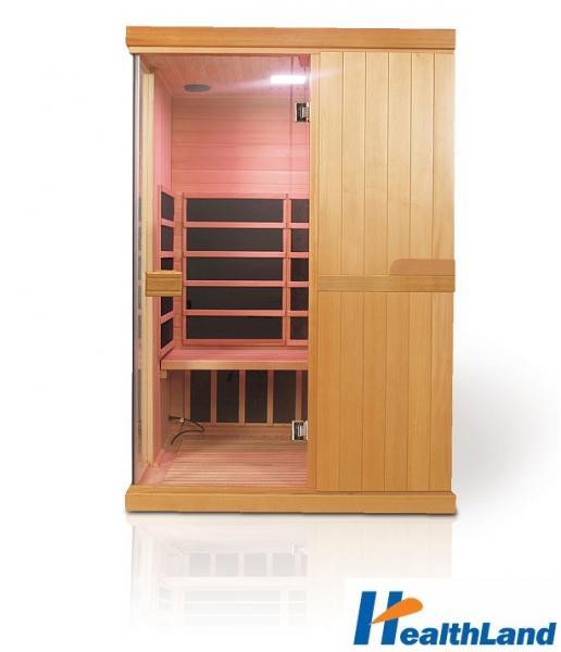 INFRASAUNA DeLUXE 2200 CARBON - BT + podlahové topení