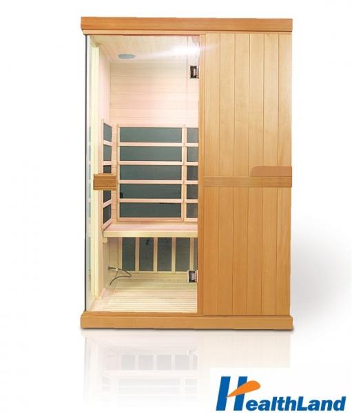 INFRASAUNA DeLUXE 2200 CARBON + podlahové topení
