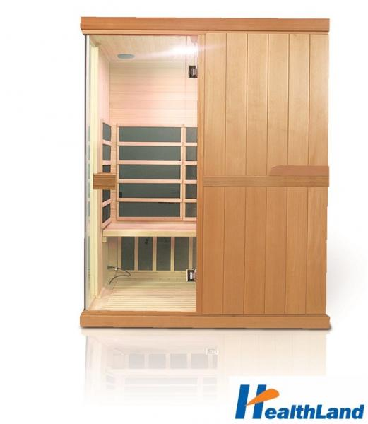 INFRASAUNA DeLUXE 3300 CARBON + podlahové topení