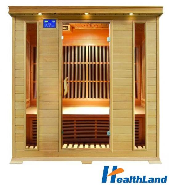 INFRASAUNA DeLUXE 4004 CARBON + podlahové topení