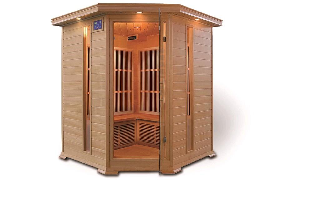 INFRASAUNA DeLUXE 4005 CARBON + podlahové topení