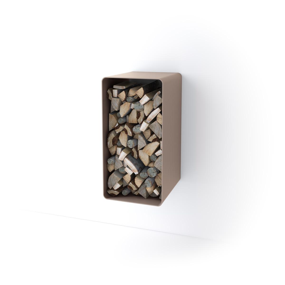 Stojan na dřevo FD4 krém metal