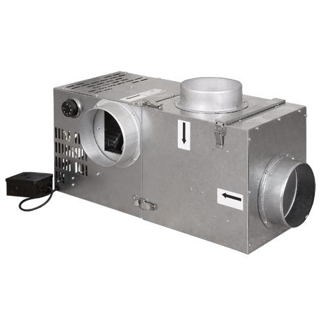 Ventilátor 400 s bypasem