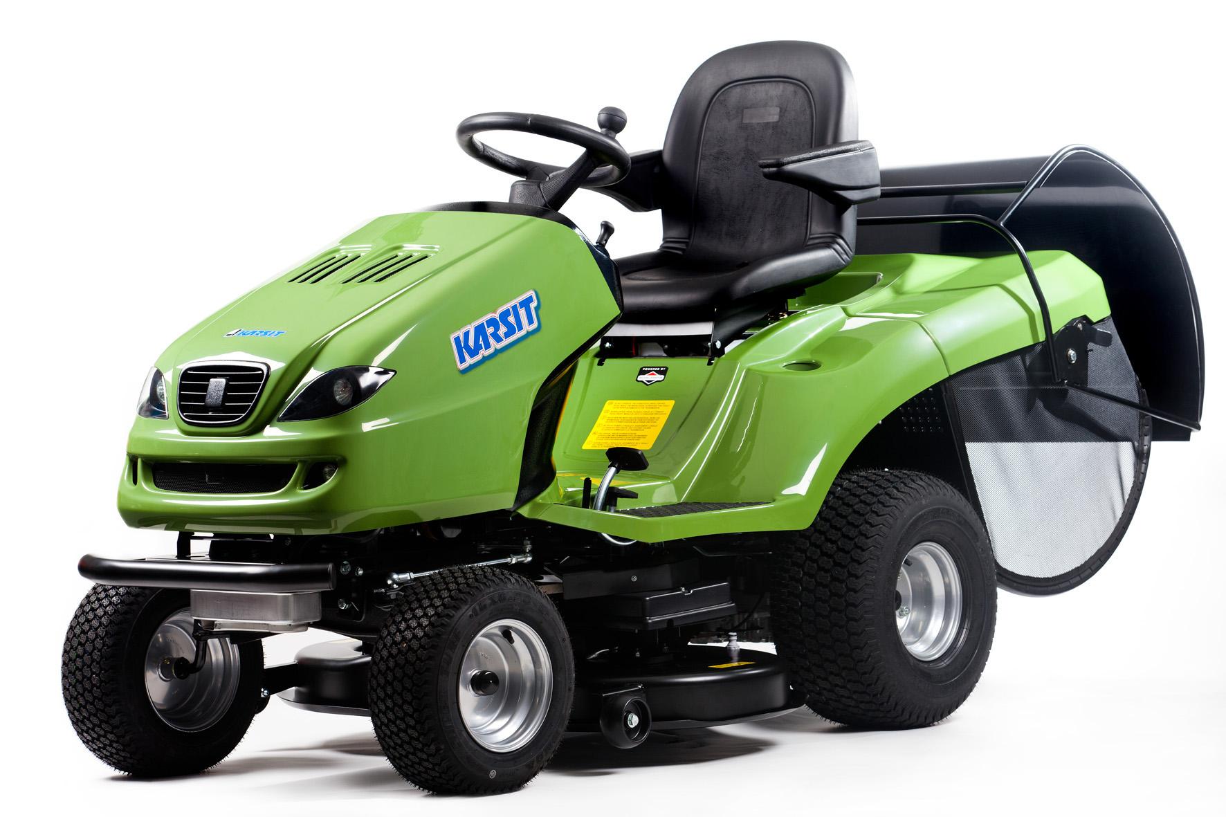 KARSIT K 20/102 H GREEN CUT travní traktor + DÁREK