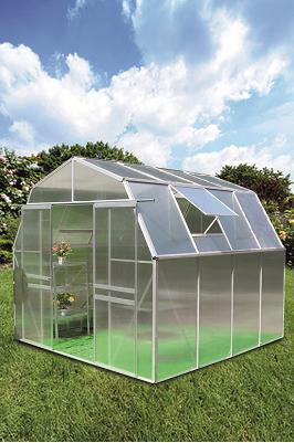KOMFORT TITAN 8000 STRONG - hliníkový skleník s polykarbonátem + základna ZDARMA