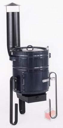 Kotlíková souprava 15 lt - černá - ohřívač vody Thorma