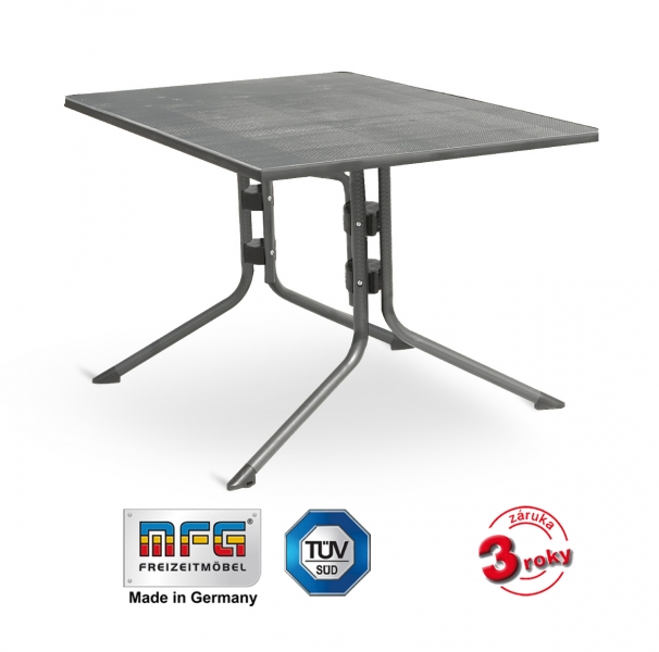 Kovový stůl MFG MEC-MESH 140