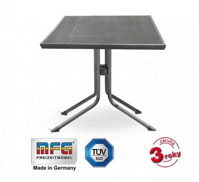 Kovový stůl MFG MEC-MESH 80