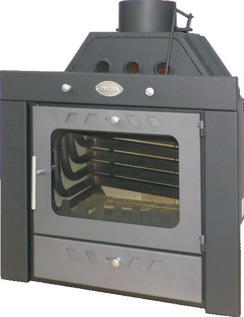 Krbová vložka s teplovodním výměníkem ZVEZDA Camera B10 VR16