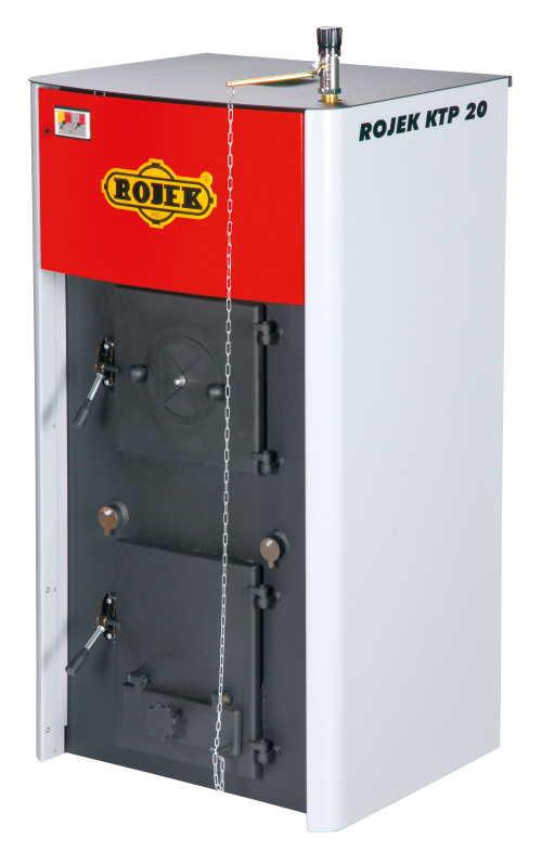 KTP 20 - teplovodní kotel na tuhá paliva