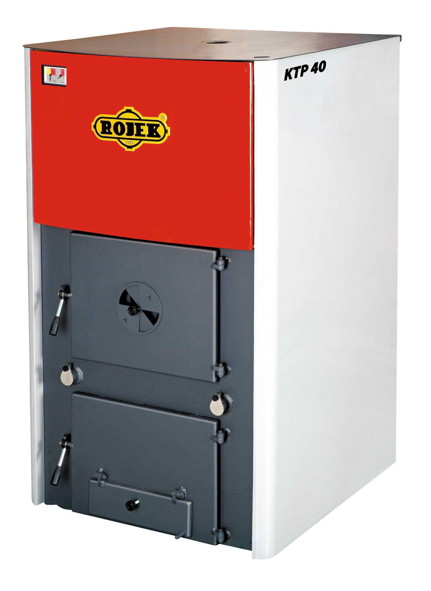 KTP 40 - teplovodní kotel na tuhá paliva
