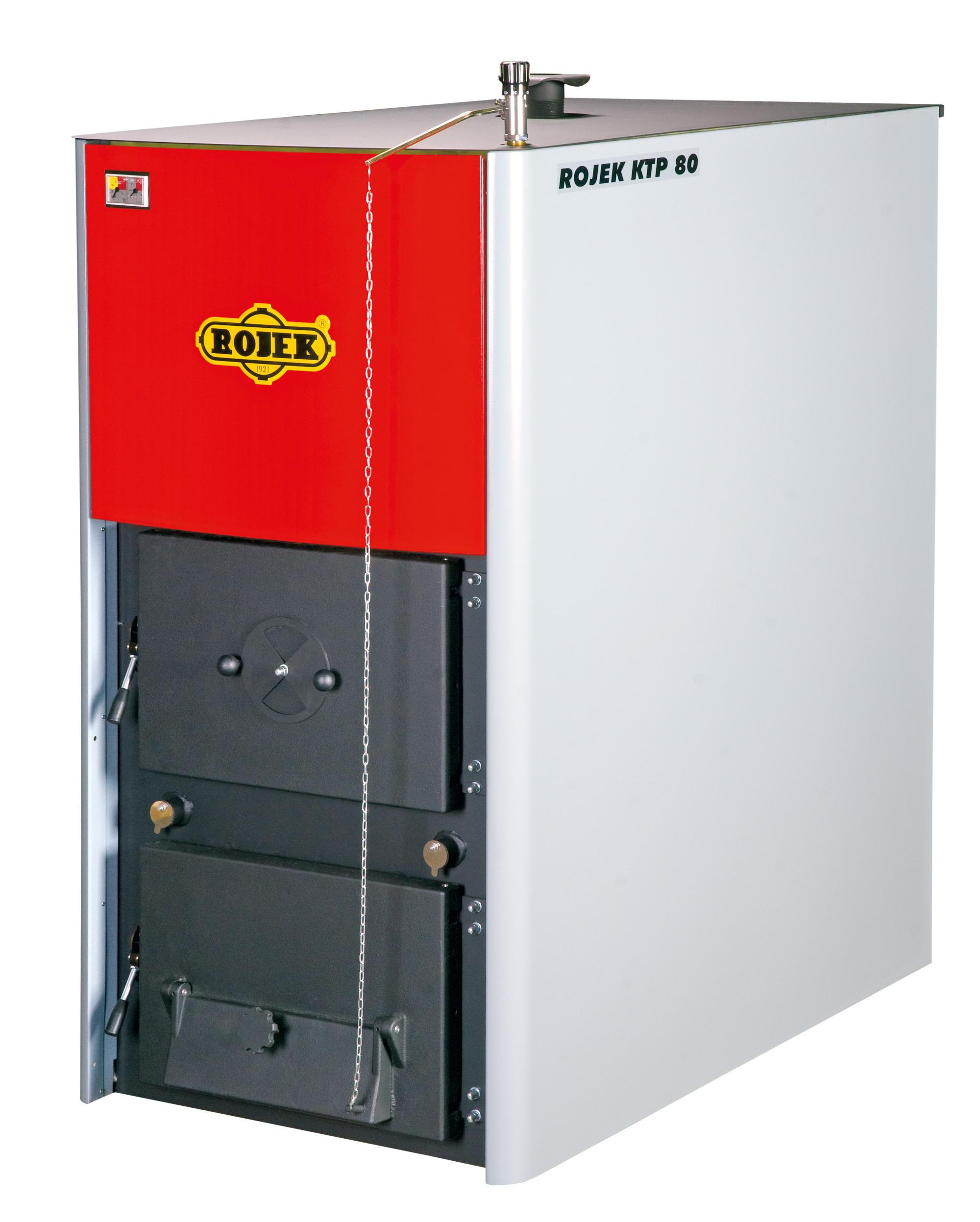 KTP 80 - teplovodní kotel na tuhá paliva