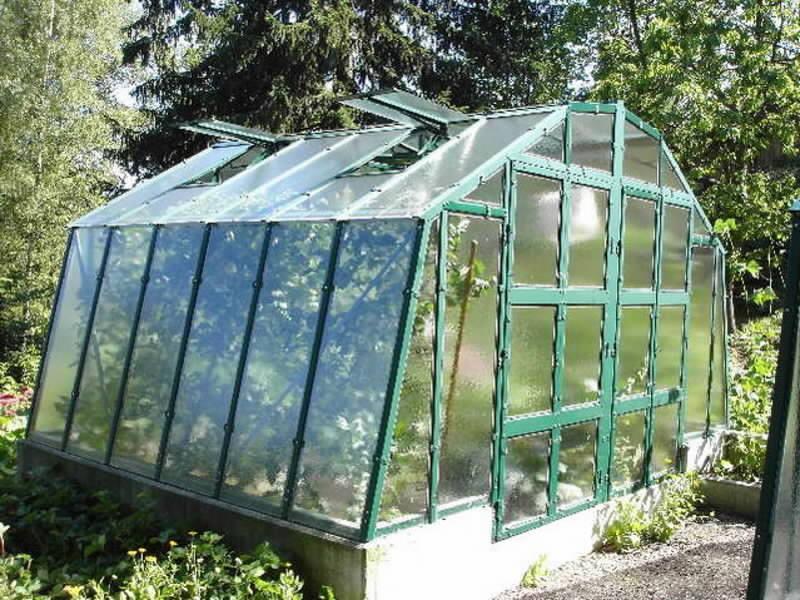 Lakovaný skleník PRIMUS M 3