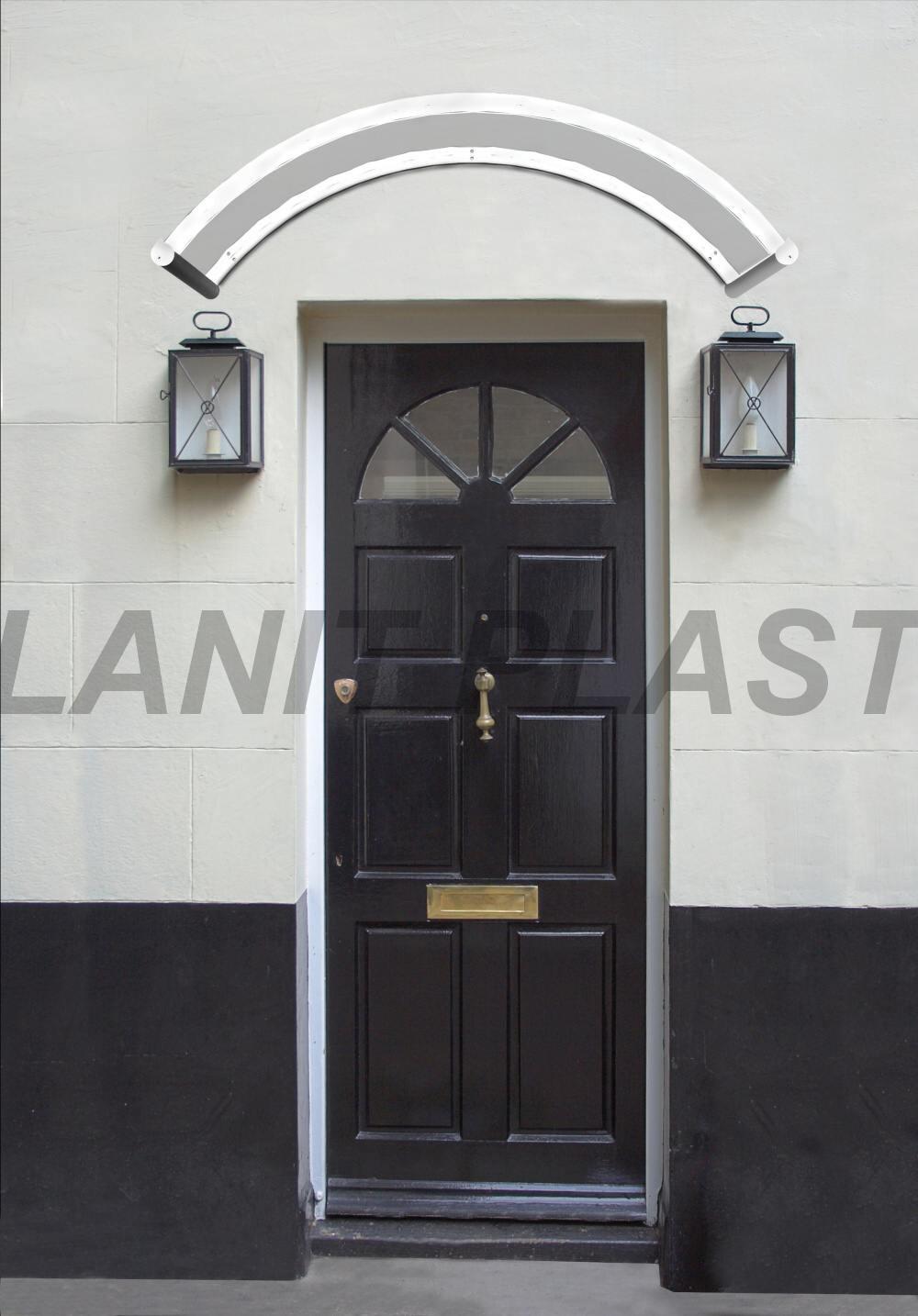LanitPlast vchodová stříška ORION 1350 FSXšířka 1350 mm, bílá