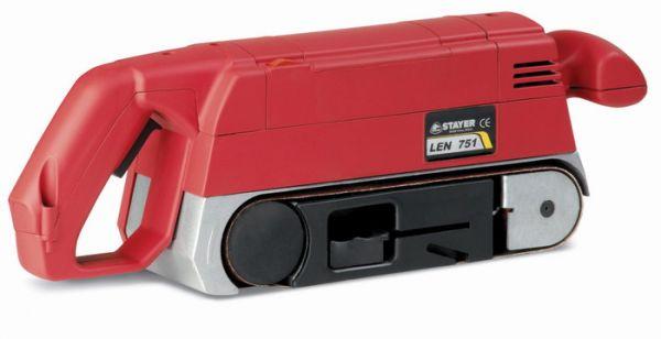 LEN751 - pásová bruska 900 W / 76 x 533 mm