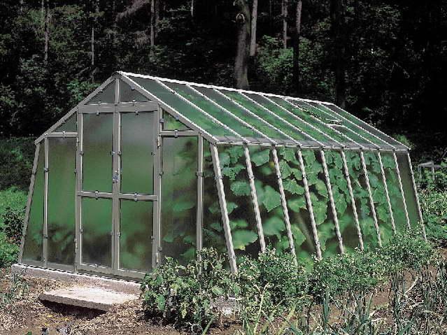 Limes Variant L4,5 - pozinkovaný skleník