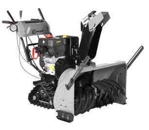 LUMAG SFK 90PRO - pásová sněhová fréza s elektrostartem a vyhřívanými rukojeťmi