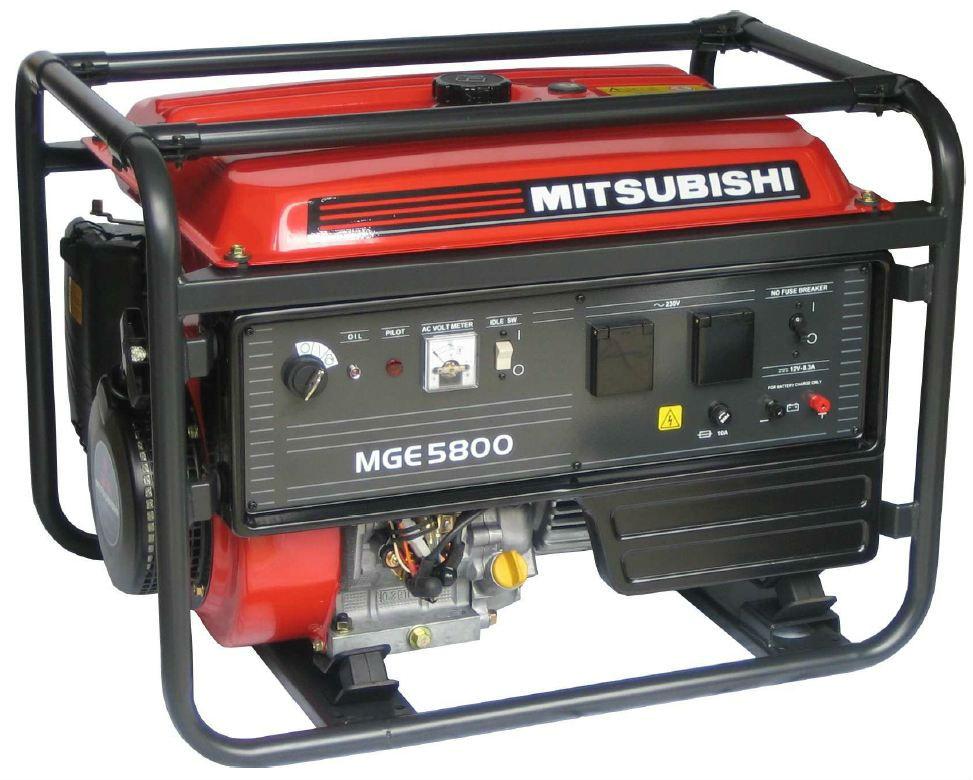 MGE 5800 AVR jednofázová elektrocentrála