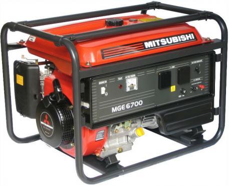 MGE 6700 jednofázová elektrocentrála