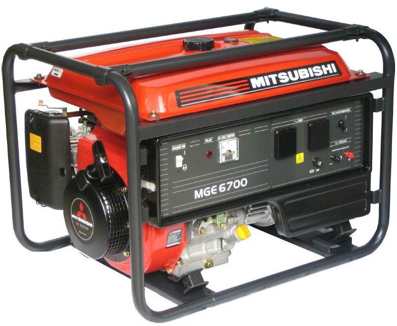 MGE 6701 AVR jednofázová elektrocentrála