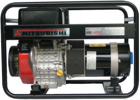 MGK 4200 jednofázová elektrocentrála