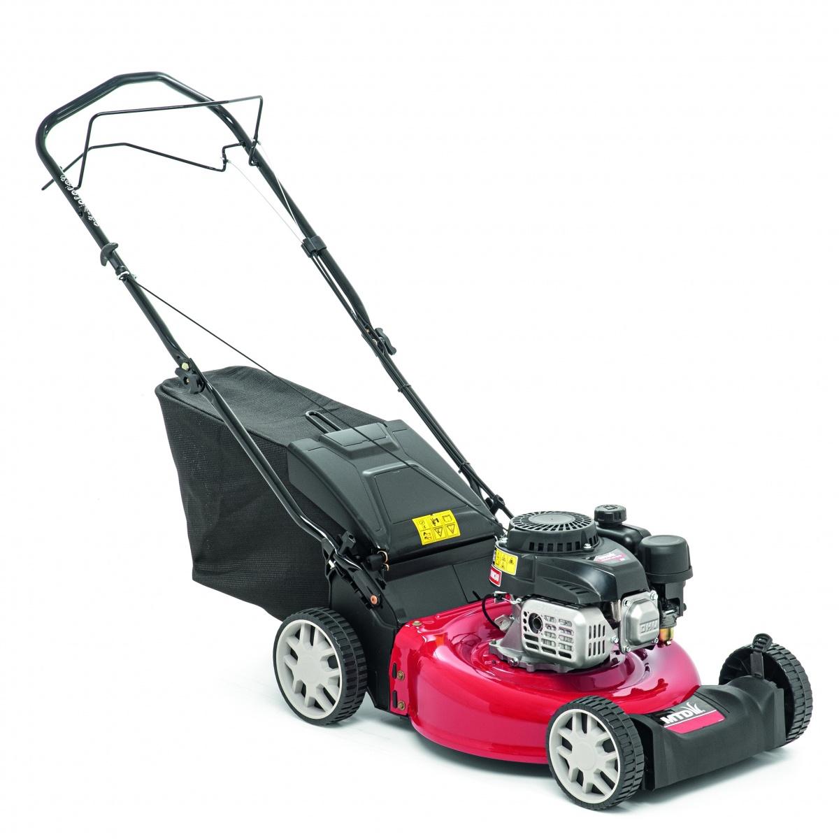 MTD SMART 46 SPO - travní sekačka s benzinovým motorem a pojezdem + DÁREK
