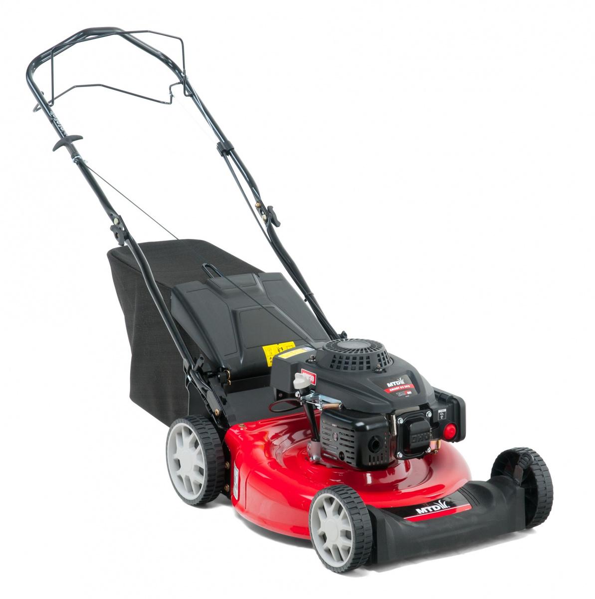 MTD SMART 53 SPO - travní sekačka s benzinovým motorem a pojezdem + DÁREK
