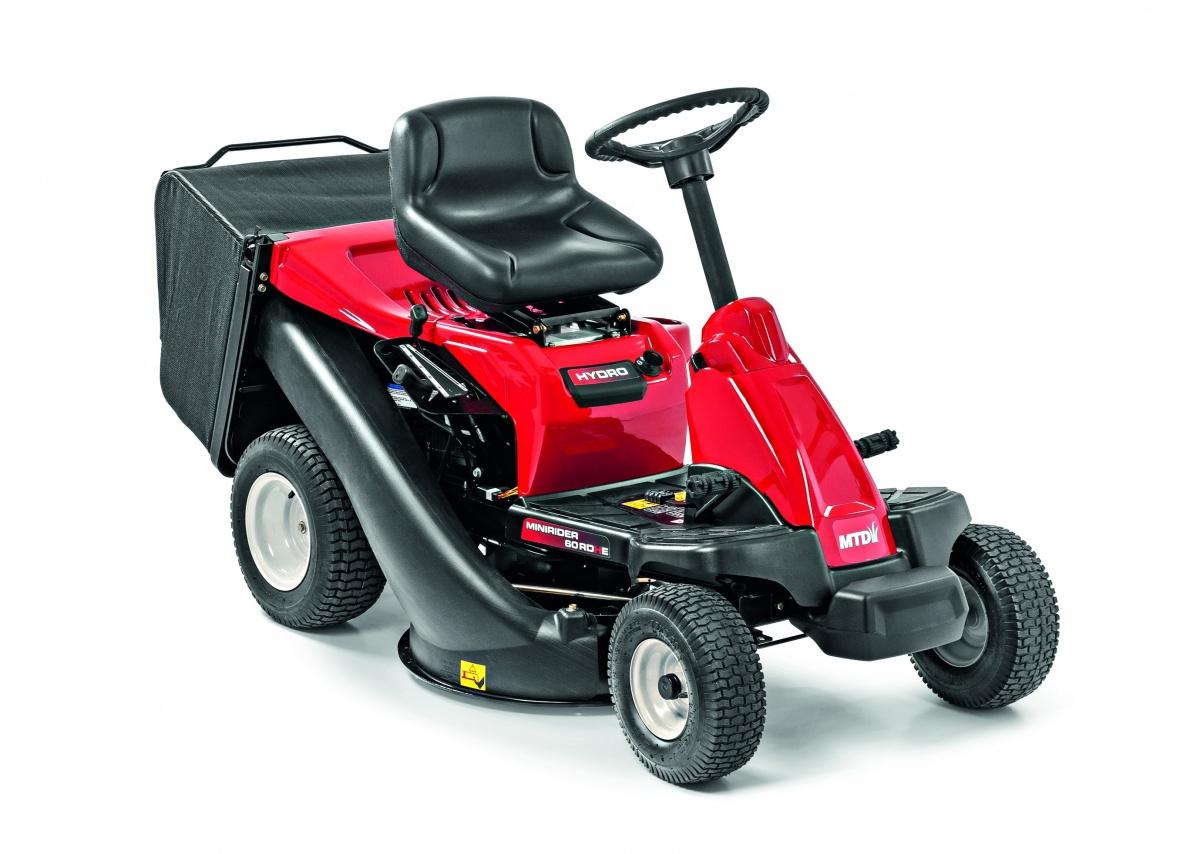 MTD SMART MINIRIDER 60 RDHE - travní traktor se zadním výhozem a elektrostartem