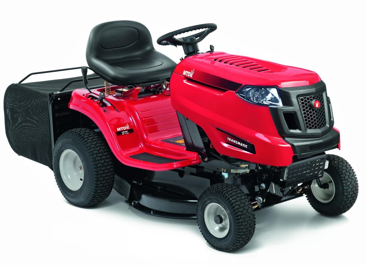 MTD SMART RC 125 - travní traktor s zadním výhozem