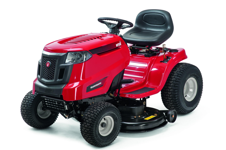 MTD SMART RG 145 - travní traktor s bočním výhozem