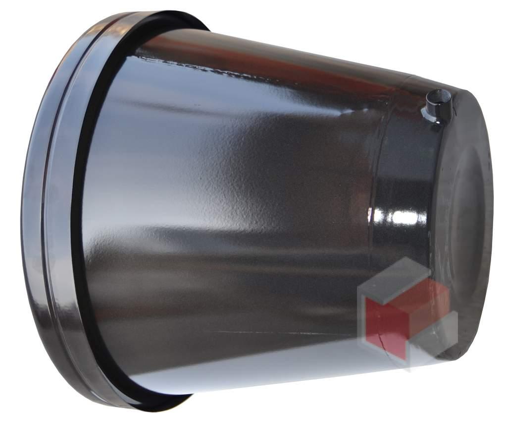 Náhradní kotel pro ohřívač vody Unikot - černá